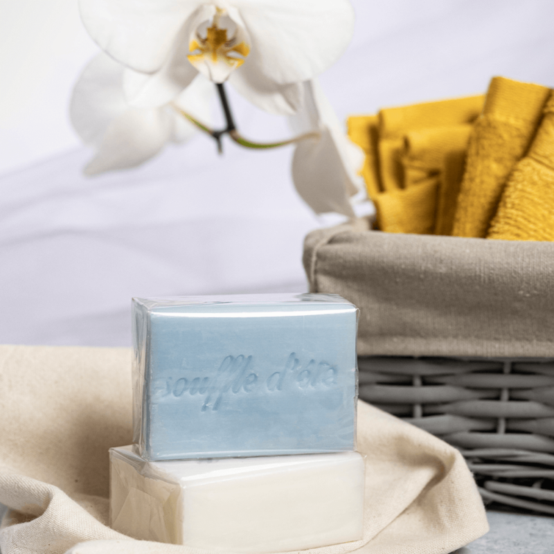Casa Nature kézzel készült, 100% növényi, extra gyengéd szappan tiszta organikus shea vajjal, finom nyári pamut illattal - Souffle d'Été